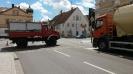 Gülle auf Fahrbahn in Thannhausen am 29.07.16