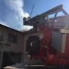 Nachlöscharbeiten Werkstattgebäude in Burtenbach am 08.05.16