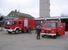 Erste Arbeiten am neuen LKW 2007