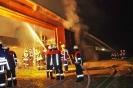 Brand landwirtschaftliches Gebäude am 4.10 in Edelstten