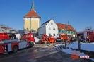 Dachstuhlbrand am 17.02.15 in Breitenthal