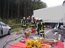 Schwerer VU auf der B300 zwischen Thannhausen und Ziemetshausen am 08.10.15