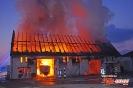 Brand Bauernhof in Uttenhofen am 10.03.16
