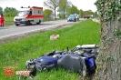 Schwerer VU mit Motorrad auf der St2025 zwischen Burg und Nettershausen am 06.05.17