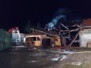 Brand eines Stadels in Burtenbach am 08.01.20