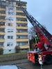 Drehleiterrettung in Thannhausen am 25.12.20